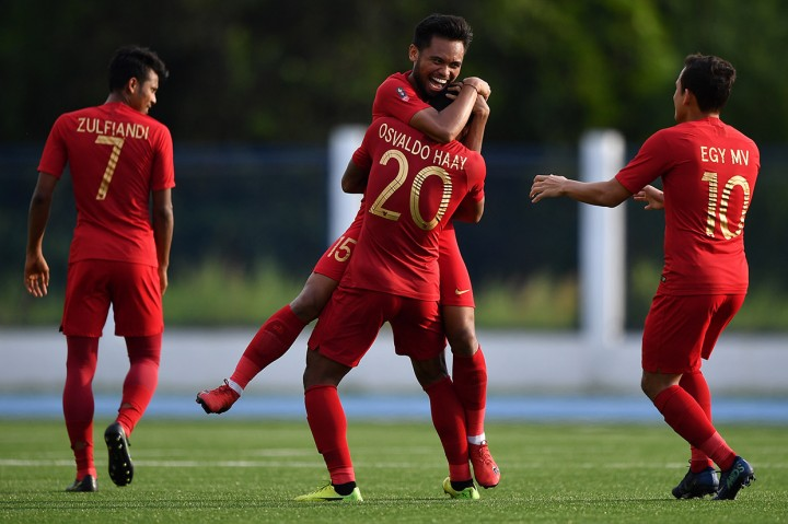 Bungkam Laos 4-0, Indonesia Lolos ke Semifinal SEA Games