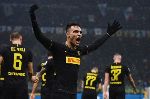 Lautaro Martinez Kerasan di Inter Milan