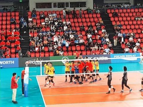 Tim Voli Putri Indoor Indonesia Dikalahkan Vietnam