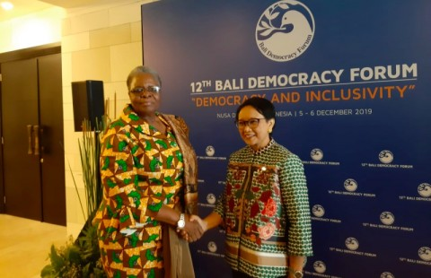 Indonesia, Namibia Discuss Bilateral Cooperation