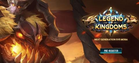 Megaxus Masih Ada, Siapkan Game MOBA Legend of Kingdoms
