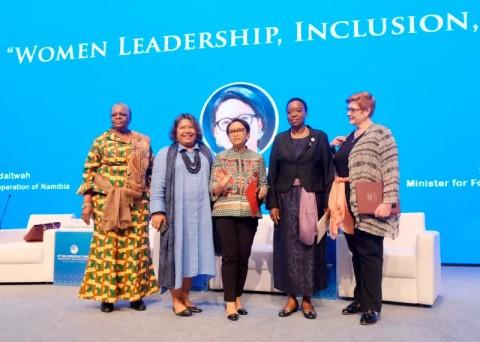 Empat Menteri Bertukar Pikiran Terkait Peran Strategis Perempuan