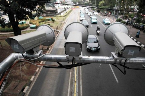Kepolisian Bakal Pasang 105 Kamera ETLE di DKI Jakarta