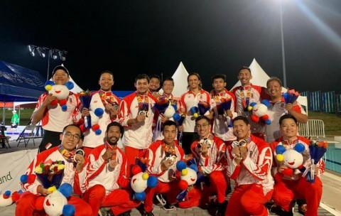 Underwater Hockey Indonesia Sumbang Perak dan Perunggu