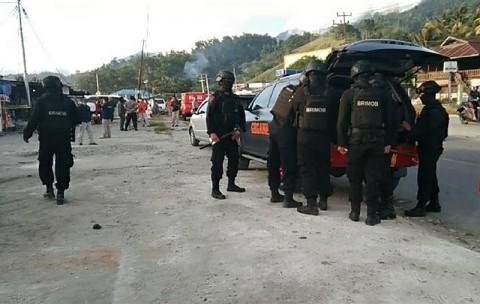 Densus 88 Tangkap Terduga Teroris di Sentani