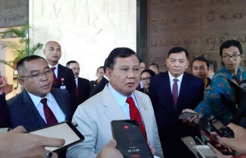 Prabowo Sebut Prestasi Jokowi di Internasional Luar Biasa