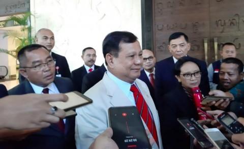 Prabowo: Saya Hanya Menjalankan Politik yang Ditentukan Presiden