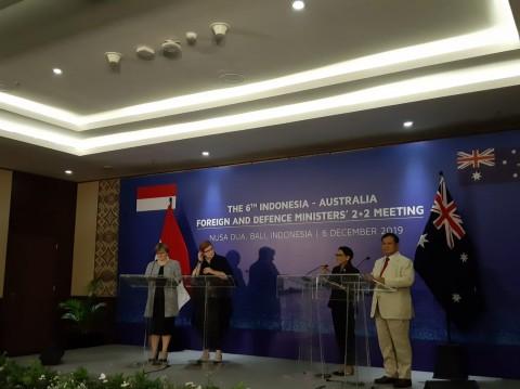 RI-Australia Sepakat Kerahkan Pasukan Penjaga Perdamaian Bersama