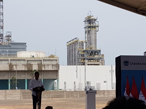 Jokowi Berharap Pembangunan Pabrik Kurangi Defisit Transaksi Berjalan