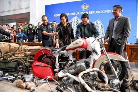 Harley Selundupan Garuda Bisa Dilelang atau Dimusnahkan