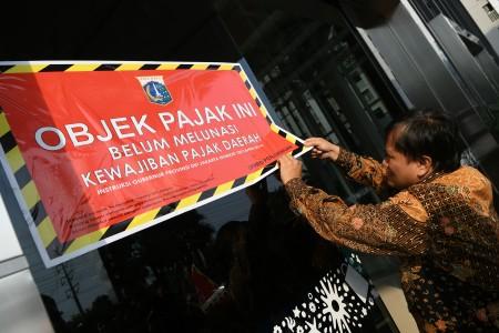 Penunggak PBB Tertinggi di Jakarta Pusat