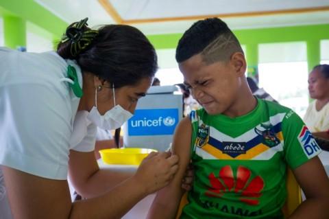 Samoa Perangi Epidemi Campak, Penentang Vaksin Ditangkap