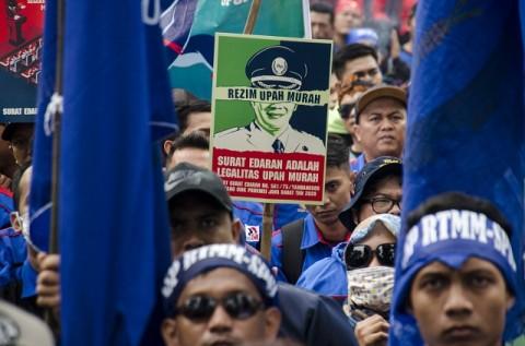 Buruh Minta Dilibatkan dalam Pembahasan <i>Omnibus Law</i>