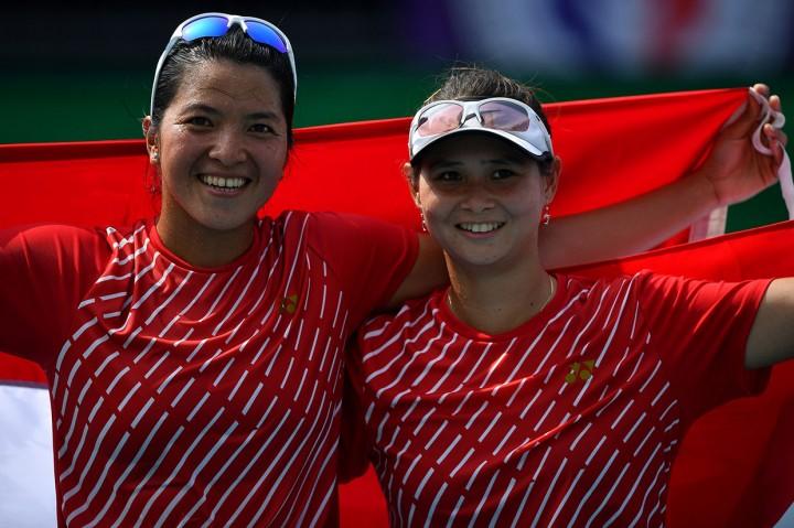 Beatrice/Jessy Sumbang Emas Kedua dari Tenis