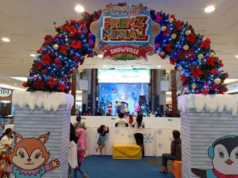 Sambut Natal dan Tahun Baru, Tangcity Mall Hadirkan Desa Salju