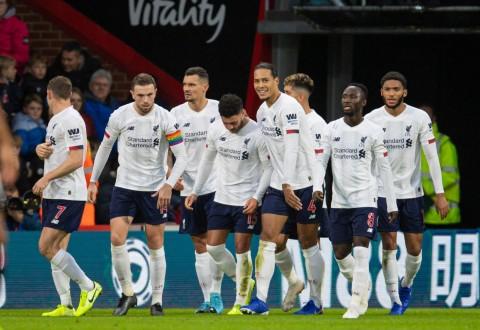 Bournemouth Terlalu Lemah Buat Liverpool