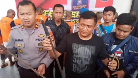 Sejumlah Remaja Komplotan Begal di Makassar Dibekuk
