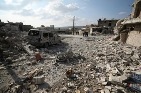 18 Orang Tewas dalam Serangan Udara di Idlib