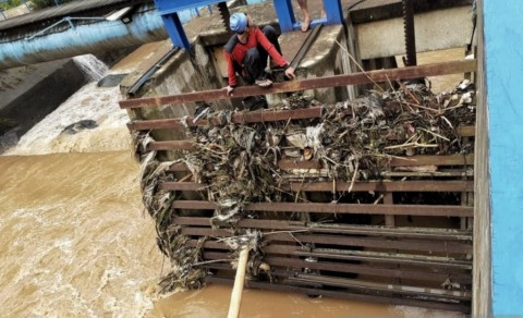 Air PDAM Kota Bandung Keruh Akibat Banjir Bandang
