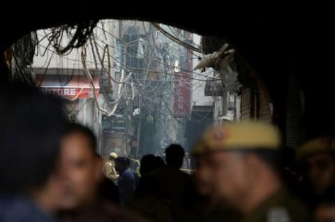 Korban Tewas Kebakaran Pabrik India Jadi 43 Orang