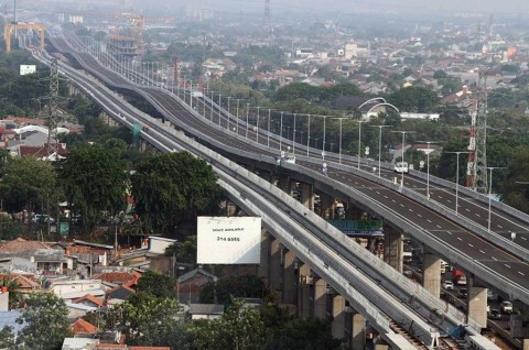 Tol Layang Jakarta-Cikampek Bantu Kerja Polisi Atasi Kemacetan