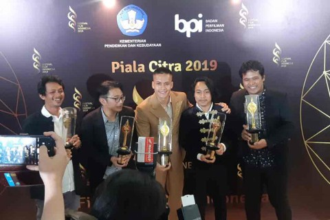 Aktor Terbaik FFI 2019 Dedikasikan Kemenangan untuk Sharukh Khan