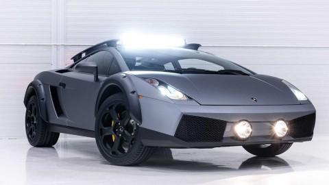 Lamborghini Gallardo untuk Keperluan Offroad