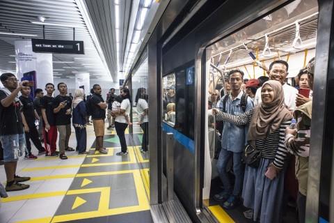 KAI dan MRT Patungan untuk Integrasi Transportasi