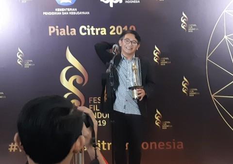 Mondo Gascaro Menang Penata Musik Terbaik FFI 2019