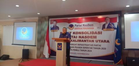 NasDem Pastikan DPW Kaltara Siap Menghadapi Pemilu