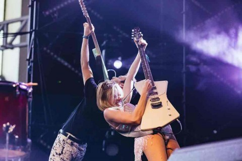 Power Pop Asal Inggris Charly Bliss Tampil di Festival Alex Blake Charlie