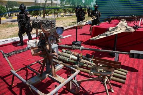 4 Roket Hantam Kompleks Pasukan AS di Irak