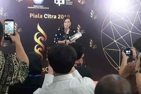 Gina S. Noer Sabet Dua Piala Citra sebagai Penulis Skenario Terbaik
