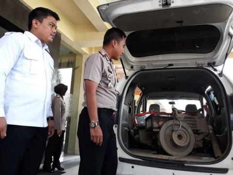 Pencuri Mesin Traktor di Bantul Diberondong Peluru