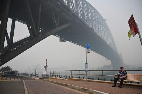 Sydney Diselimuti Kabut Asap Kebakaran Hutan