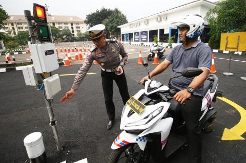 Uji Praktik SIM, Polda Metro Jaya Gunakan E-Drives