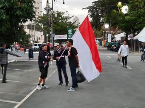 Suporter Indonesia dan Vietnam Mulai Berdatangan ke Stadion