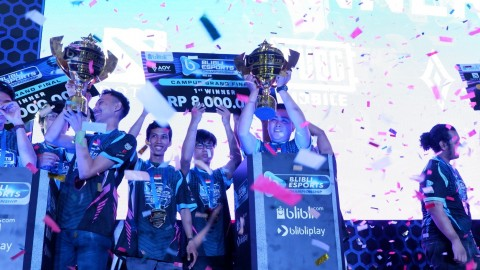 Blibli Esports Championship 2019 Bawa Kompetisi Kampus