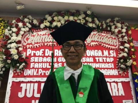 Guru Besar Moestopo Soroti Rendahnya Kesejahteraan Insan Pers