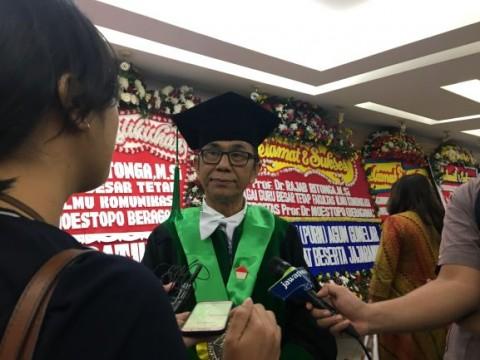 Jurnalis Didorong Punya Pendidikan Profesi Setara S2
