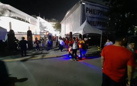 Jelang Indonesia v Vietnam, Penjagaan Stadion Rizal Memorial Diperketat