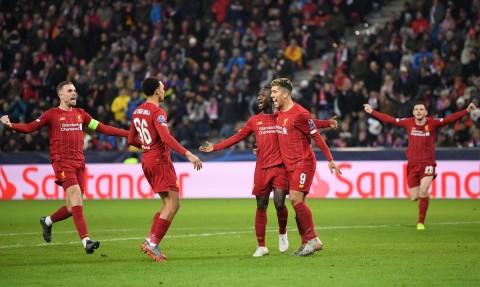Liverpool Lolos ke 16 Besar dengan Status Juara Grup
