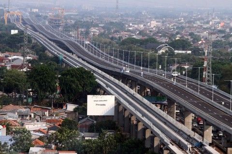 Jakarta-Cikampek Elevated Toll Road Expected to Reduce Traffic Congestion