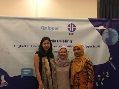 LIPI dan <i>Quipper</i> Gelar Karya Ilmiah Remaja 2019