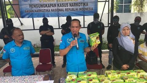 60 Kg Sabu di Medan Berasal dari Malaysia
