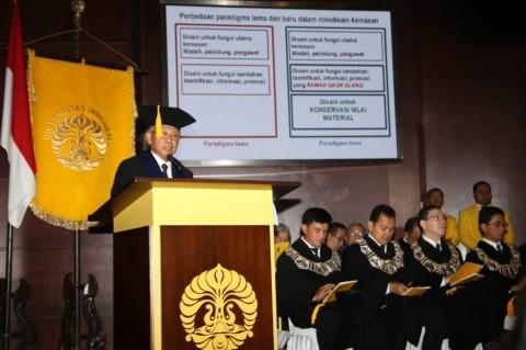 UI Tambah Dua Guru Besar Fakultas Teknik