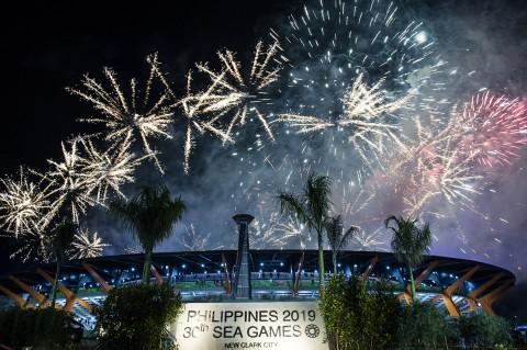 Kemeriahan Penutupan SEA Games 2019