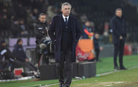 Penghormatan Para Pemain Napoli untuk Ancelotti Usai Dipecat