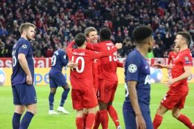 Bayern Muenchen Bungkam Tottenham di Allianz Arena
