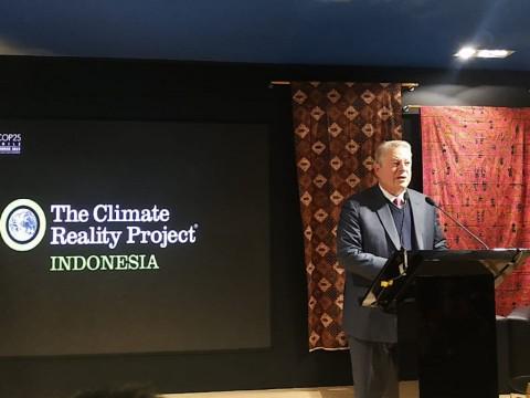 Eks Presiden AS Al Gore Apresiasi Penanganan Iklim Indonesia